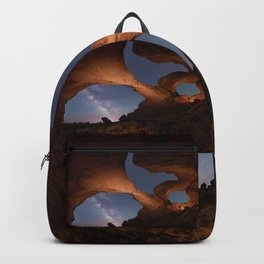 Double Arch in Arches National Park 2 Backpack