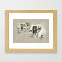Huey, Dewey and Louie Framed Art Print