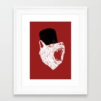 russian Framed Art Prints featuring Russian Bear by Arkady Zaifman