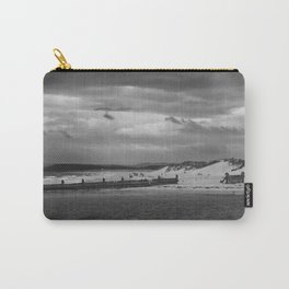 Panaromic of Lossiemouth beach on west coast of Scotland Carry-All Pouch
