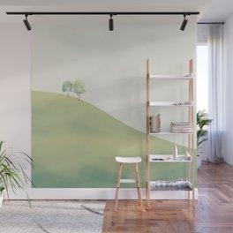 Green Sunny Field III Wall Mural