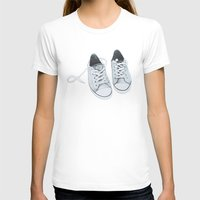 converse T-shirts featuring Converse by BlendByEli
