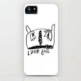 Little Evil II iPhone Case
