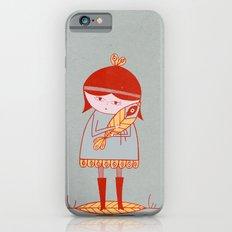 girl holding a bird iPhone 6s Slim Case