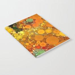 Sunset Poppies Notebook