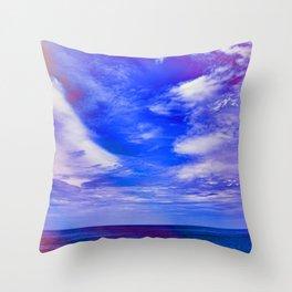 Blue  Bondi Throw Pillow