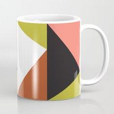 Pink, lime black triangle pattern (2015) Mug
