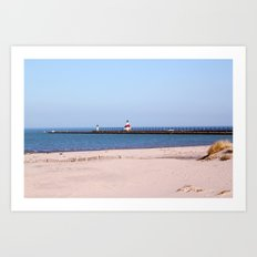 Pierview Art Print
