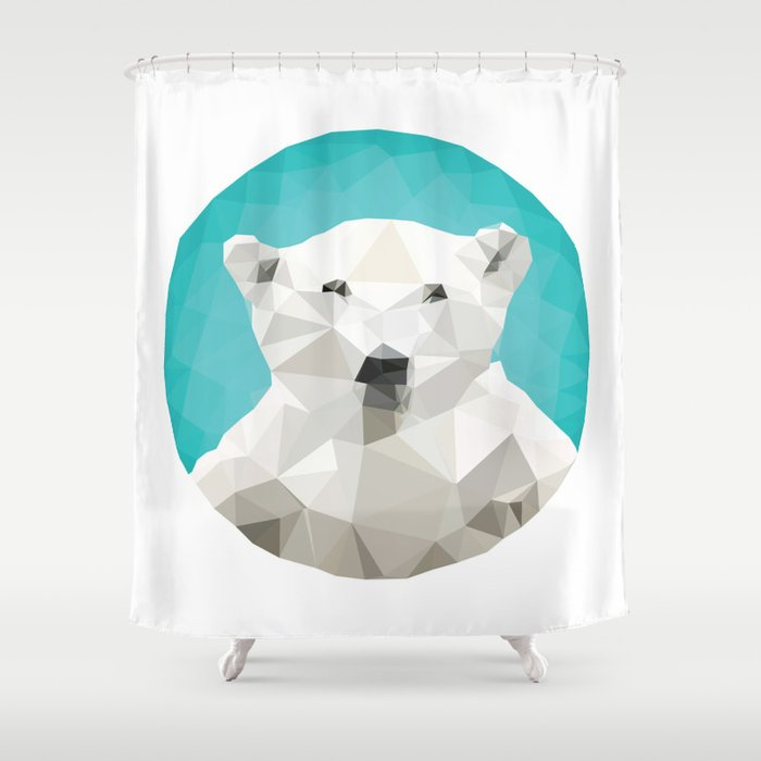 SAVE THE POLAR BEARS Shower Curtain By Mxedfeelngs