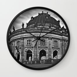 Bode-Museum on the Museum Island of Berlin Wall Clock