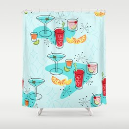 Cabo Cocktails Shower Curtain