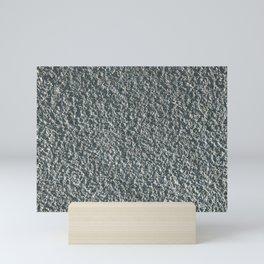 Rough Blue Granite Wall Texture Mini Art Print