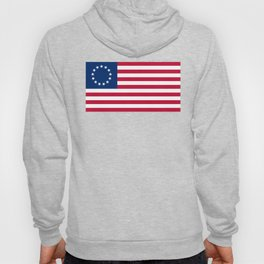 Betsy Ross Old Glory American USA Flag Hoody