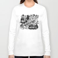 cookies Long Sleeve T-shirts featuring Cookies Machine by MrCapdevila / Bingo