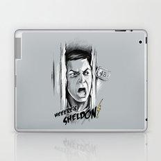 Heeere's Sheldon! Laptop & iPad Skin