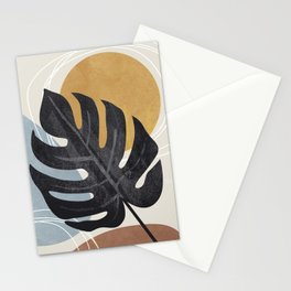 Abstract Tropical Art I Stationery Cards