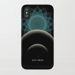 BLUE DWARF iPhone Case
