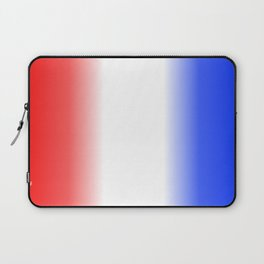 Red White and Blue Stripes Laptop Sleeve