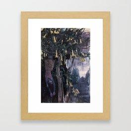 Honey Dreaming Framed Art Print