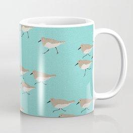 Scattering Sandpipers Coffee Mug