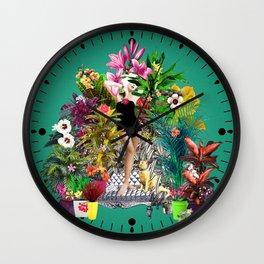 Cultivator Wall Clock