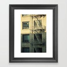 Apartment  Framed Art Print