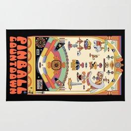 Pinball Countdown 1,2,3,4,5,6,7,8,9,10,11,12 Rug