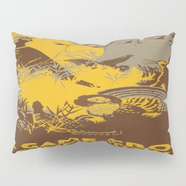 Vintage poster - Game Crop Pillow Sham