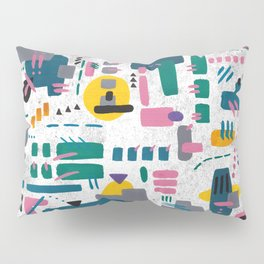 Abstract gouache Pillow Sham