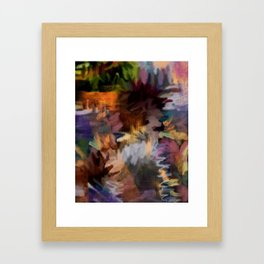FEEL THE BUZZ: Blackish Framed Art Print