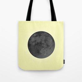 BLACK MOON + CANARY YELLOW SKY Tote Bag