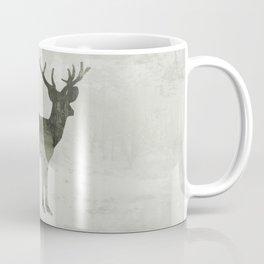 Snowing Deer Coffee Mug