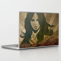 jane eyre Laptop & iPad Skins featuring Jane by Robin Curtiss