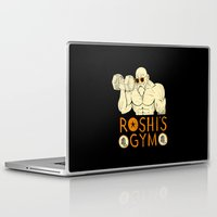 gym Laptop & iPad Skins featuring roshi's gym by Louis Roskosch