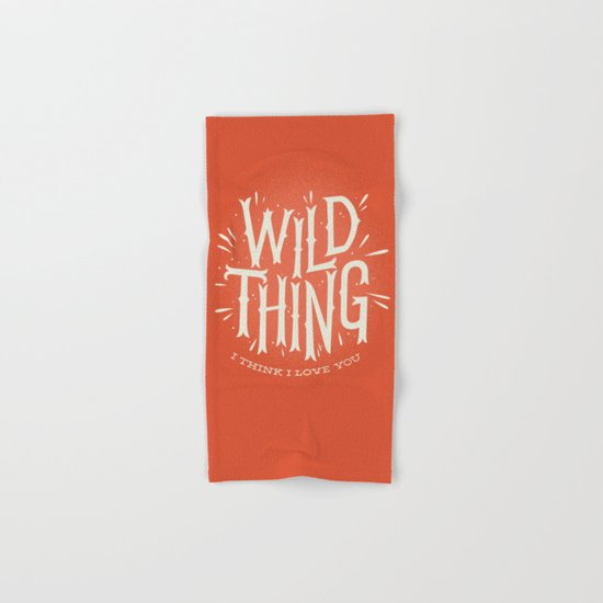 Wild Thing Hand & Bath Towel