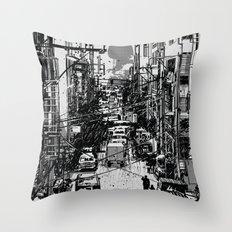 Something In Between Throw Pillow