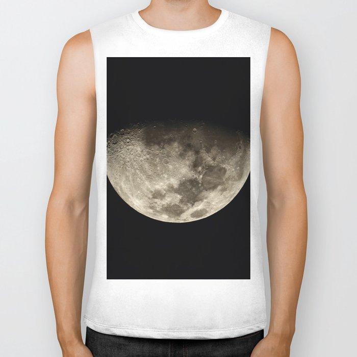 Moon Black 4 Biker Tank