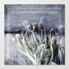 Paint me tulips Canvas Print