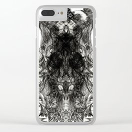 Pagoda Trance Clear iPhone Case