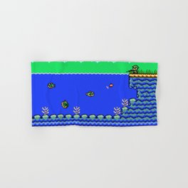Fishing Hand & Bath Towel
