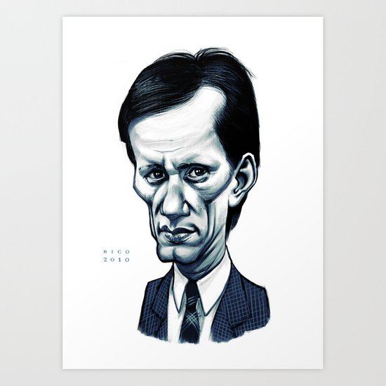James Woods Art Print