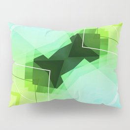Revive - Geometric Abstract Art Pillow Sham