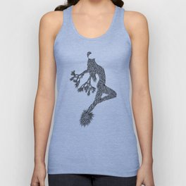 Quail Woman by CREYES of ArtFx Old Town Yucca Valley Unisex Tank Top