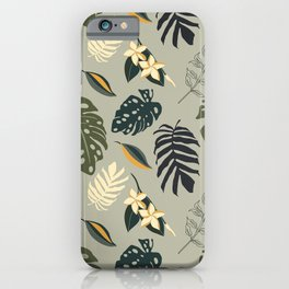 Gold in the Tropical Jungle  iPhone Case