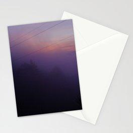 PURPLE FOG Stationery Cards