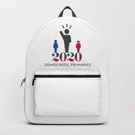 2020 Democratic Primaries Backpack