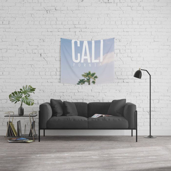 CALI FORNIA Wall Tapestry