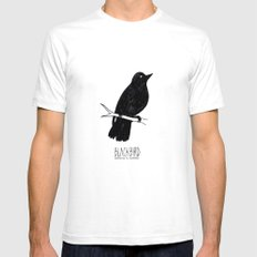 BLVCKBIRD - Blvckbird SMALL White Mens Fitted Tee