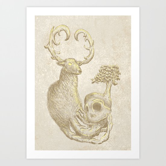 """ Nature's Life Cycle "" Art Print"
