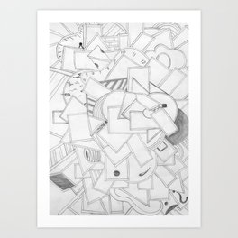 Changing Direction Art Print